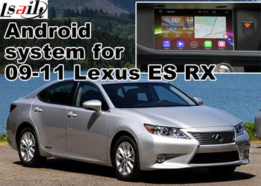 China Lexus ES RX NX IS Car GPS Navigation System with rear view touch screen TV video cast screen Android 5.1 supplier
