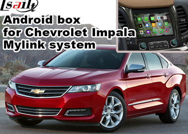 China Chevrolet Impala Android Navigation Box , Wifi Mirror Link real time Navigation supplier