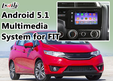 China Honda Navigation Video Interface for FIT support WIFI , App , Google Play , Rear View Camera supplier