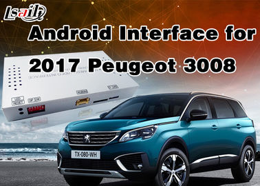 China 1.6Ghz 4-Core Android 6.0 Navigation GPS Multimedia System for Peugeot 2008 / 208 / 408 / 508 Support Mirrorlink supplier