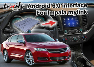 China Chevrolet Impala Android 6.0 video interface with rearview WiFi video mirror link supplier