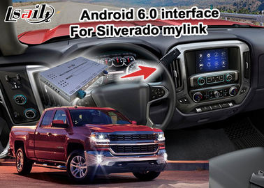 China Android 6.0 navigation box for Chevrolet Silverado video interface with rearview WiFi video mirror link supplier
