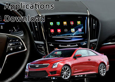 China Android Auto Interface for Cadillac with Miracast 3D Live Map USB Steering Wheel Control supplier