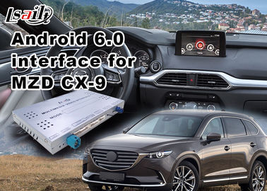 China Android 6.0 Car Multimedia Navigation System for Mazda CX-9 2014-2018 Support Original Car Steering Wheel and Knob supplier