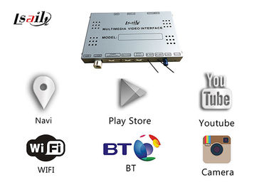China Multimedia Android Navigation Box Built - In WIFI With LVDS Digital Display supplier