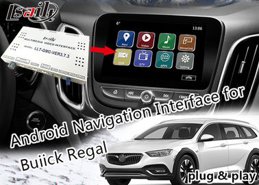 Buick Car Video Interface Online - Map WIFI Network With Real - Time Traffic Information