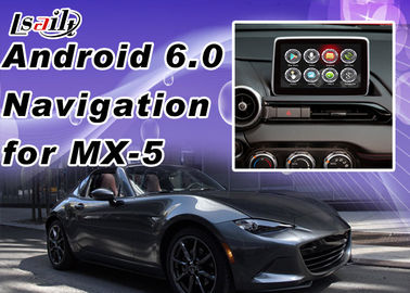 China Plug&Play Android Auto Interface For Mazda MX-5 2 3 6 CX -3 CX -5 Support Apps  Miracast WIFI Yandex Online Map supplier