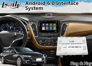 China Chevrolet Malibu Android 6.0 Navigation Video Interface for Mylink System 2015-2018 YouTube Waze supplier