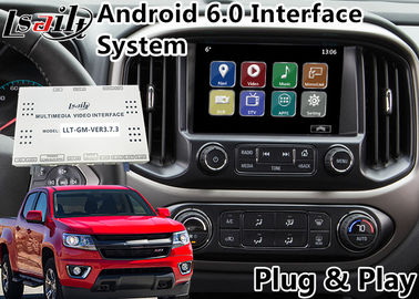 China Android 6.0 Multimedia Video Interface for Chevrolet Colorado / Impala MyLink System 2015-2018 , GPS Navigation supplier