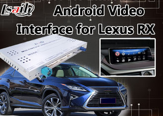 China Android 6.0 Lvds Video Interface for Lexus RX 2013-2018 Mouse Control , GPS Navigation Mirrorlink RX270 RX450h RX350 supplier