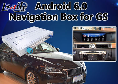 China Android 6.0 Video Interface for Lexus GS 2014-2018 mouse version, Car Gps Navigation Box Mirrorlink GS450h GS350 supplier