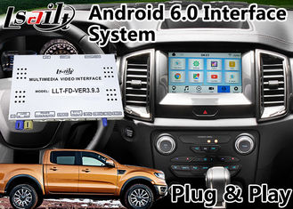 China Android 6.0 GPS Navigation Video Interface for Ford Ranger / Explorer SYNC 3 System WIFI BT Mirror link Cast Screen supplier