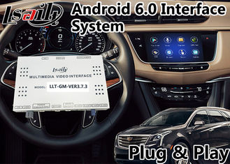 China Android 6.0 GPS Navigation Video Interface for Cadillac XT5 / XTS / SRX / ATS / CTS 2014-2018 CUE System supplier