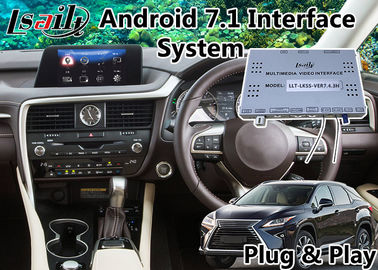 China Android 7.1 Auto Navigation Interface for Lexus RX 200t 8 Inch Screen 2015-2018 , Google / waze supplier