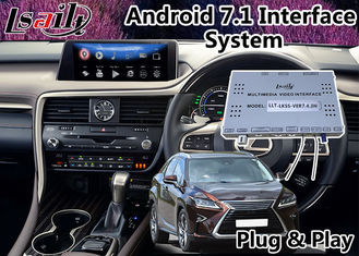 China Android 7.1 Auto Interface , GPS Navigation System for Lexus RX 450h 12.3 Inch , 2015-2018 Mouse Control supplier