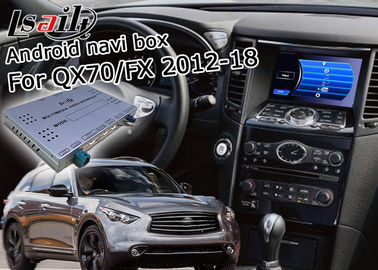China Android Navigation Car Video Interface Support Waze / Youtube For Infiniti QX70 / FX supplier