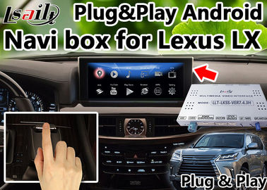 High Speed Android 6.0 Lexus Video Interface for IS LX RX  support USB CarPlay as optional