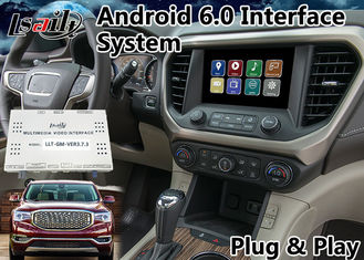 China Android 6.0 GPS Navigation Box for 2014-2018 GMC Acadia built in WIFI Mirrorlink and Bluetooth supplier