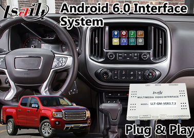 China Android 6.0 GPS Navigation System for GMC Canyon 2014-2018 ,  Video Interface support Headrest supplier