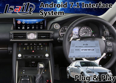 China Android Interface GPS Navigation Box for 2017-2018 Lexus Is 350 Mouse Control 12.3 Inch Screen supplier