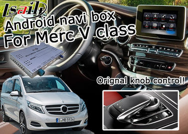 China Mercedes benz V class Vito android car navigation box mirrorlink gps navigation for car supplier