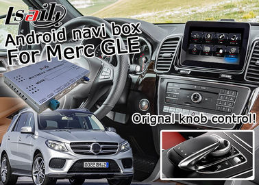 China HD Resolution gps navigation device , Mercedes benz GLE Mirror Link Navigation supplier