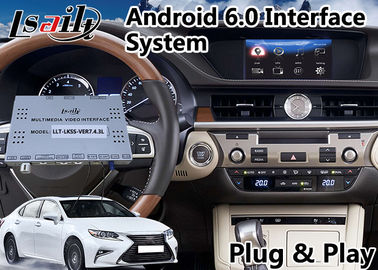 China Android Interface GPS Navigation for 2014-2018 Lexus ES 200 Knob Control supplier