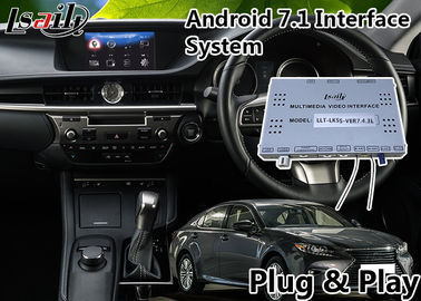 China Android 7.1 Car Multimedia Video Interface for 2014-2018 Leuxs Es 250 Knob Control supplier