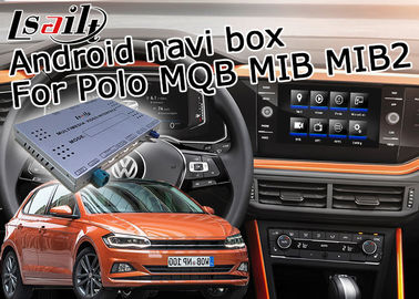China GPS Android navigation video interface cast screen google app for VW Polo MQB MIB MIB2 6.5 and 8 inches supplier