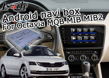 China Octavia Mirror Link Car Navigation System WiFi Video For Tiguan Sharan Passat Skoda Seat supplier