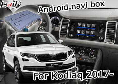 China Skoda Kodiaq Easy Installation GPS Navigation Device Support Android Interface Youtube Video Play supplier
