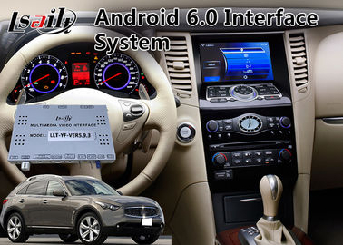 China Android 6.0 Auto Video Interface for 2008-2012 Year Infiniti FX37 / FX50 Mirrorlink supplier
