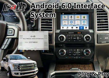 China Android 6.0 Auto Interface GPS Navigation Box for 2016-2018  F-450 SYNC 3 System supplier