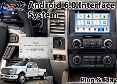China Auto GPS Navigation Box for  F450 Sync 3 Built in 2GB RAM Mirrorlink WIFI Android 6.0 supplier