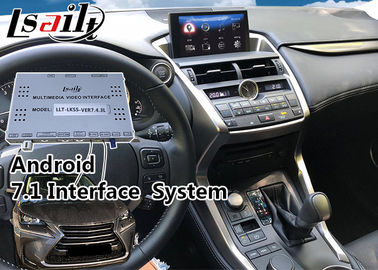 China Lexus NX Knob Control Android 6.0 Multimedia Interface Navigation for 2014-2017 year car supplier