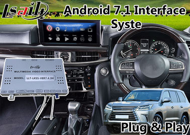 China Android 6.0 Multimedia Interface Car Navigation System for Lexus LX 450d Mouse Control 2016-2018 supplier