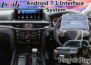 China Android Navigation Box for Lexus LX 570 2016-2020 Mouse Control support Carplay Video Interface lx570 lx450d supplier