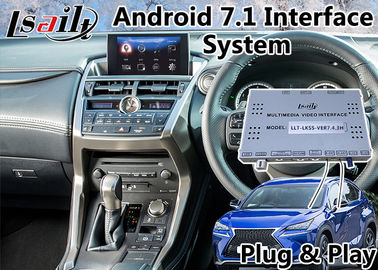 China Android Navigation Video Interface for 2014-2017 year Lexus NX 200t Touchpad Control supplier