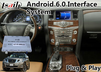 China Android 6.0 Video Interface GPS Navigation for 2012-2017 Nissan Patrol supplier