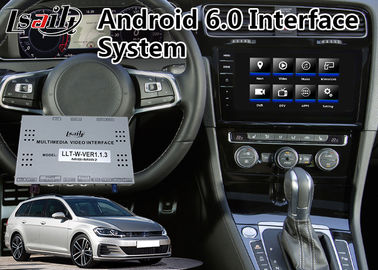 China Android 9.0 Car GPS Navigation for Volkswagen Golf Skoda , Multimedia Video Interface supplier
