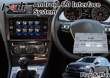 China GPS Android Navigation Interface for 2017-2019 Volkswagen Golf Tdi Estate supplier