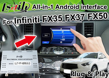 China All-in-1 Android Auto Interface for Infiniti FX 35 FX37 FX50 Integration GPS Navigation , apple carplay ,Android auto supplier