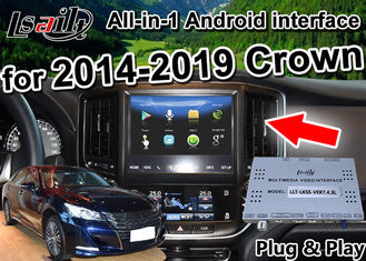 China Android Auto Interface/ GPS Navigation work on 2014-2019 Toyota Crown built Video Interface , phone mirror link , 2G RAM supplier
