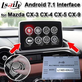 China Two Images Display Android Auto Interface For 2013-19 Mazda CX-3CX-4 CX-5 CX-9 supplier