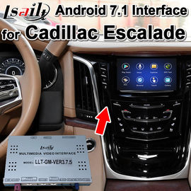 China Android 7.1 Car GPS Navigation Box Video Interface for Cadillac CUE System , RAM 2G , Plug&play easy installation supplier