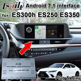 China Lsailt Android 7.1 GPS Navigation Box for Lexus ES200 ES300 ES350..2013-18 video interface support phone mirroring supplier