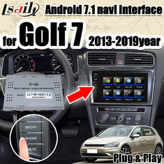 China Android 7.1 multimedia Video Interface integration navigation box  for VW Golf 7 with 32G ROM support apple carpaly supplier