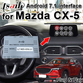 China Plug and Play Android 7.1 car video interface for Mazda CX-5 2014-2019 support YouTube play , android navigation ... supplier