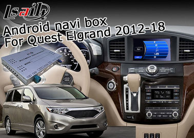 China Nissan Elgrand Quest 7.1 Android Navigation Box , GPS Navigation Device Durable supplier