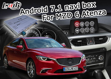 China Mazda 6 Atenza GPS Navigation Box video interface optional carplay interface android auto supplier